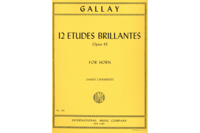 12 Etudes Brillantes