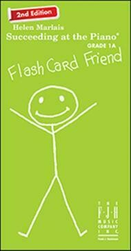 Succeeding at the Piano Flash Card Friend - Grade 1A (2nd Edition)
