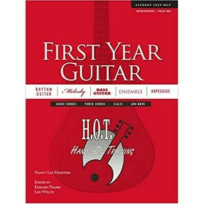 Hands On Training First Year Guitar