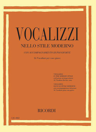 Vocalises in the Modern Style - Low Voice