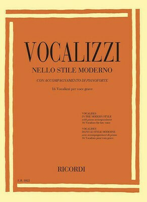 Vocalises in the Modern Style