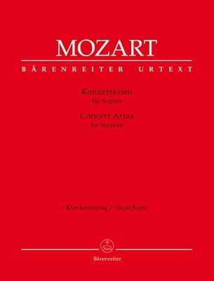 Concert Arias for Soprano