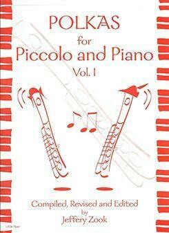 Polkas For Piccolo And Piano [PI5011]