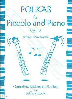 Polkas For Piccolo And Piano Vol 2 [PI5011]