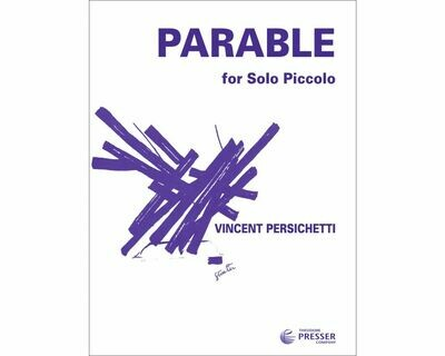 Parable for Solo Piccolo Opus 125 [PI6003]