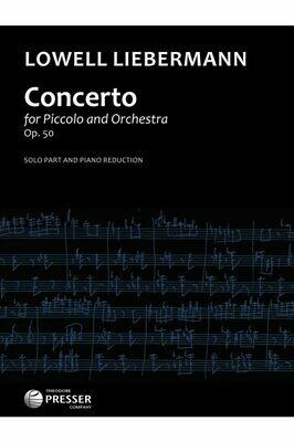 Concerto Op. 50 Piccolo and Piano [PI7001]