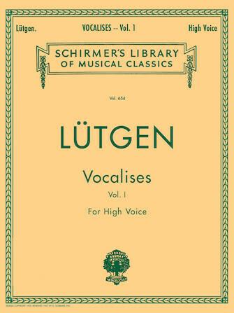 Lutgen: Vocalises (20 Daily Exercises) - High Voice