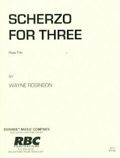Scherzo for three flutes [FT5014]
