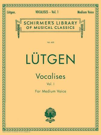 Lutgen: Vocalises (20 Daily Exercises) - Medium voice