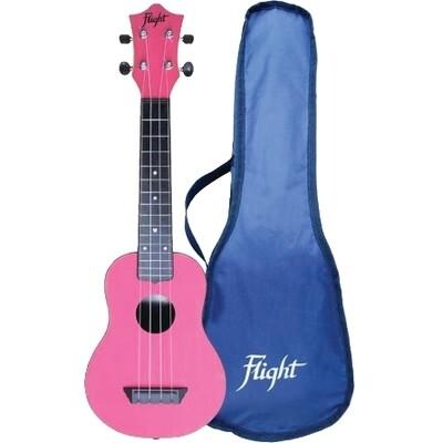 Flight soprano ukulele - pink