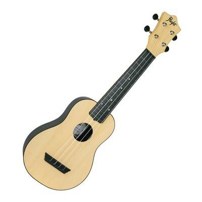 Flight soprano ukulele - natural