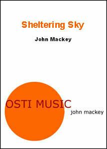 Sheltering Sky - flex band - score only