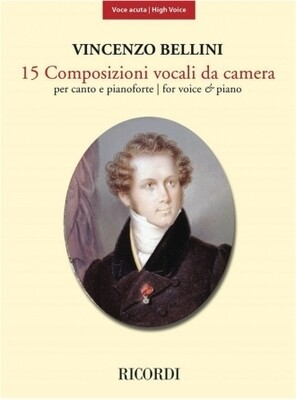 15 Composizioni Vocali Da Camera - High Voice