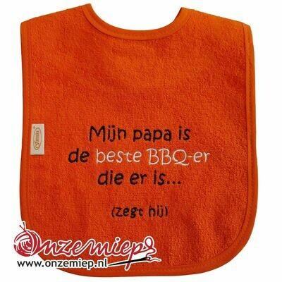 Oranje slab met