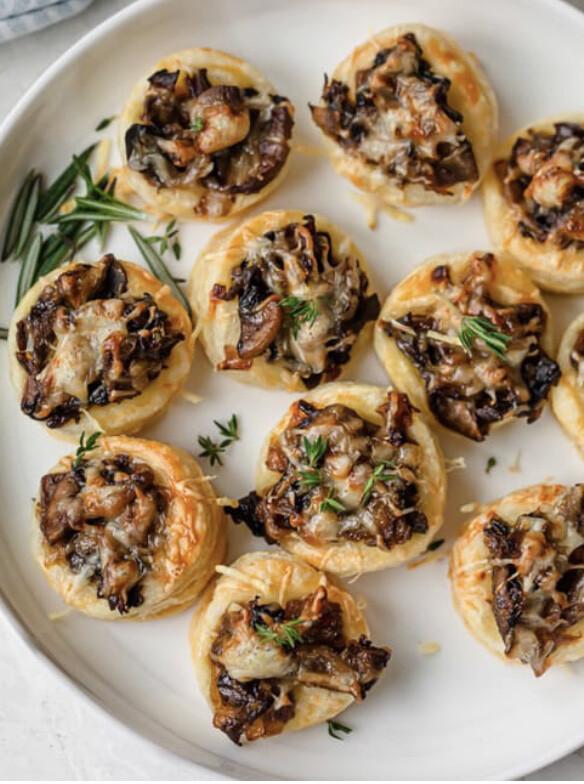 Mushroom Tarts Per Dozen
