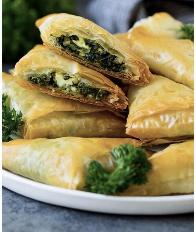 Spanakopita- Spinach Pies 1 Dozen