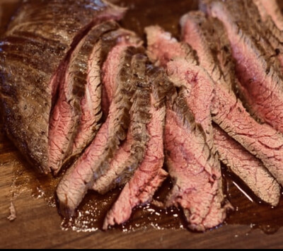Grilled Marinated Flank Steak Per Pound  Available Thursday