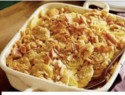 Squash Casserole Available Friday