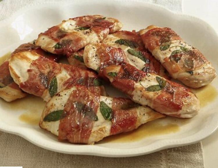 Chicken Saltimboca Per Serving