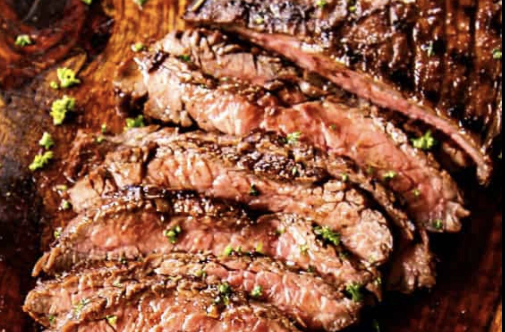 Grilled Marinated Flank Steak Available Friday