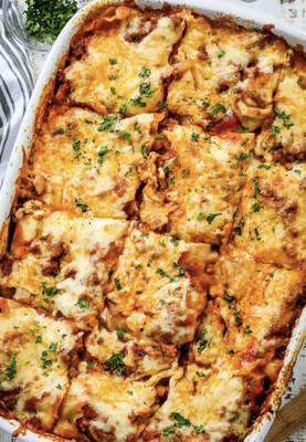 Meat Lasagna Per Serving