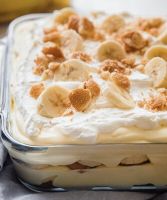 Banana Pudding Available Thursday Per Serving