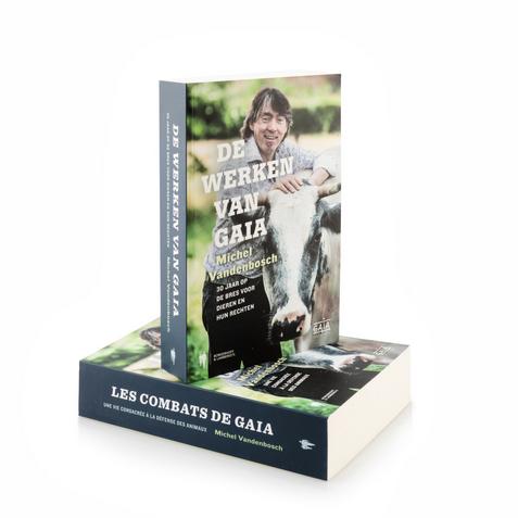 book 'De werken van GAIA' - Michel Vandenbosch (NL)