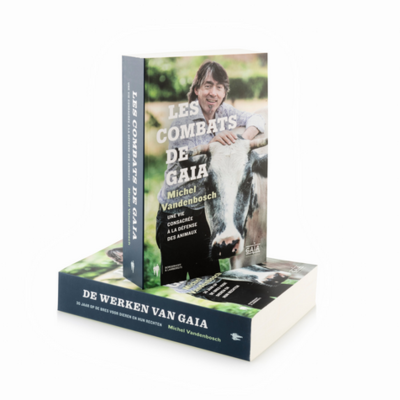 book 'Les combats de GAIA' - Michel Vandenbosch (FR)
