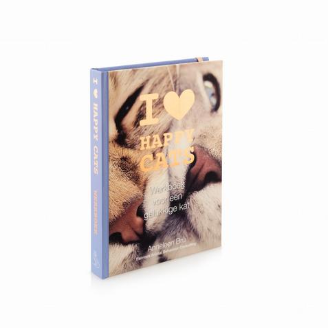 werkboek 'I love happy cats' - Anneleen Bru (NL)