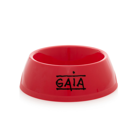 feeding bowl (red)
