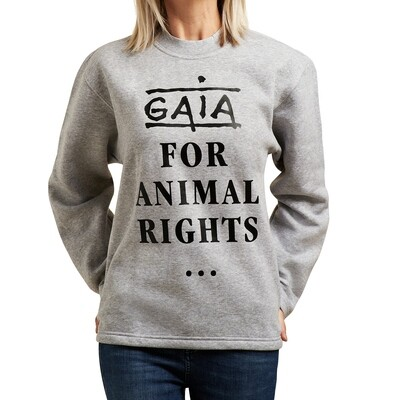 sweater 'GAIA - For animal rights' (unisex)