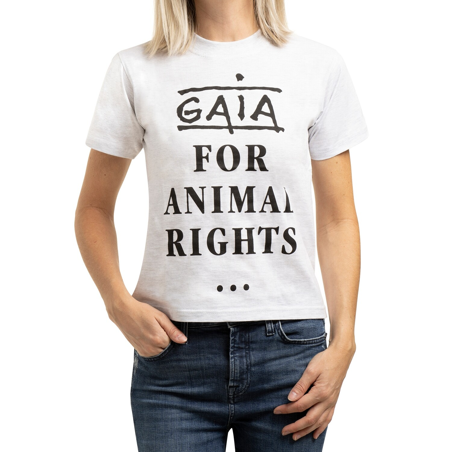 t-shirt 'GAIA - For animal rights' (unisex)
