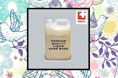 Alcohol-Based Liquid  Soap Hand Wash-5Ltr