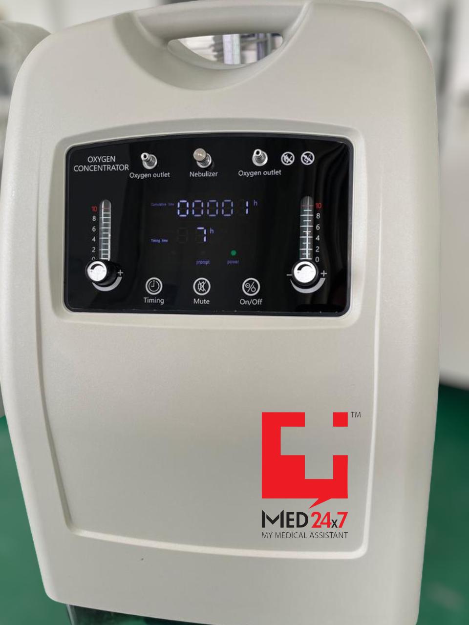 10 Ltr Dual Flow Oxygen Concentrators