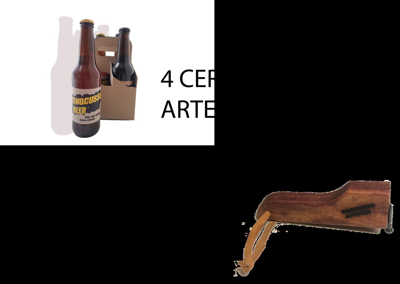 Especial 1 ( 4 Pack Cerveza Mixto + Destapador )