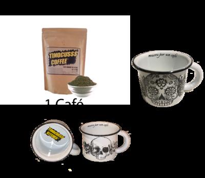 Especial Café 1 ( Café 500g + 2 Tazas Peltre )