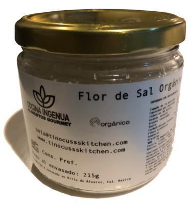 Flor de Sal 100% natural, artesanal, tradicional y orgánico 295g