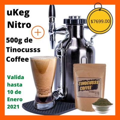Oferta UKEG NITRO + 500g de Tinocuss Coffee