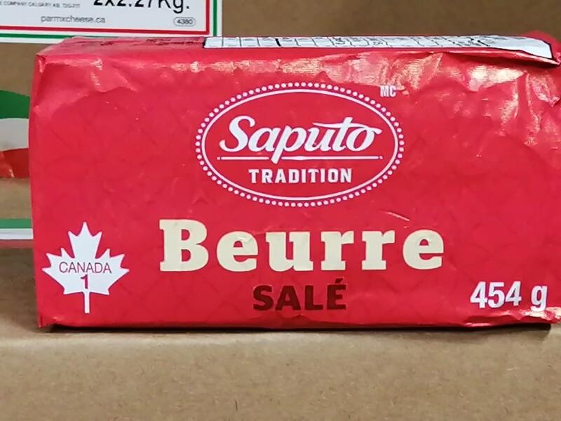 Beurre Saputo salé 454 gr