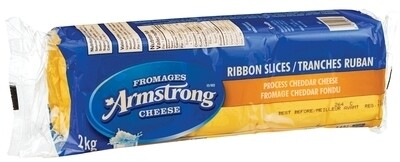 Fromage tranché jaune ou blanc Amstrong