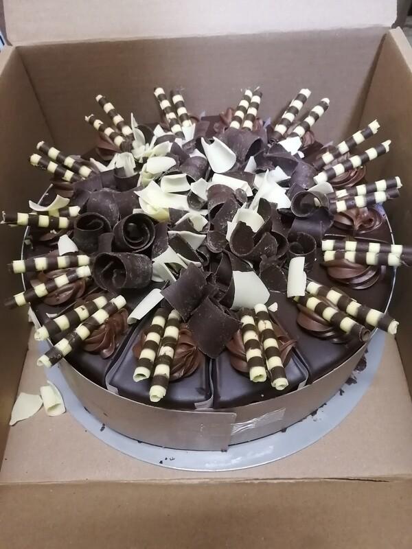 Gâteau chocolat prestige 10