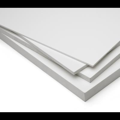 LAMINAS DE PVC BLANCO DE 3MM. 1.22M X 2.44M