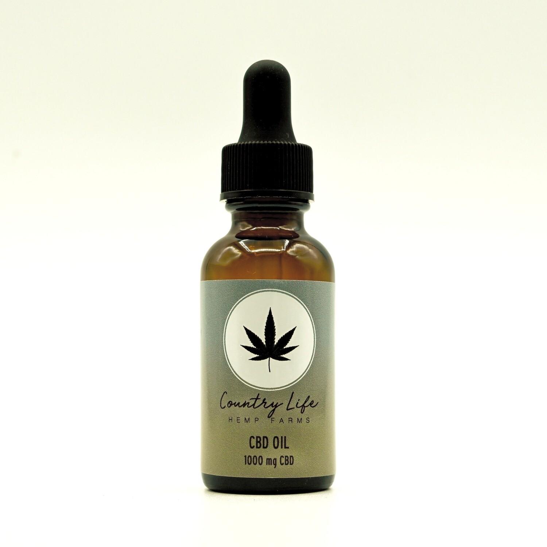Country Life CBD Oil 1000 mg
