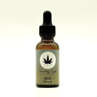 Country Life CBD Oil - peppermint