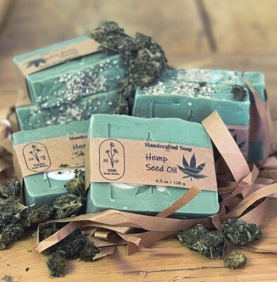 SMB Soap Works - Handcrafted Hemp Seed Oil Soap
