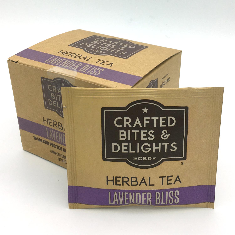 Lavender Bliss Herbal CBD Tea