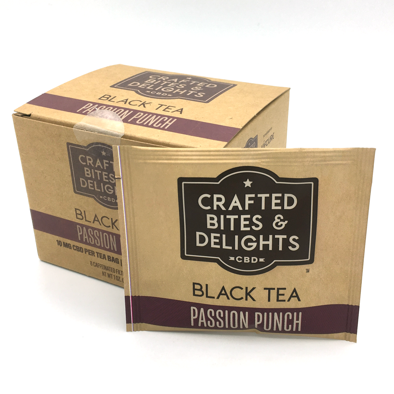 Passion Punch Black CBD Tea