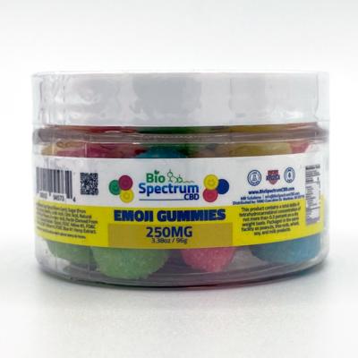 BioSpectrum Emoji Gummies 250mg CBD