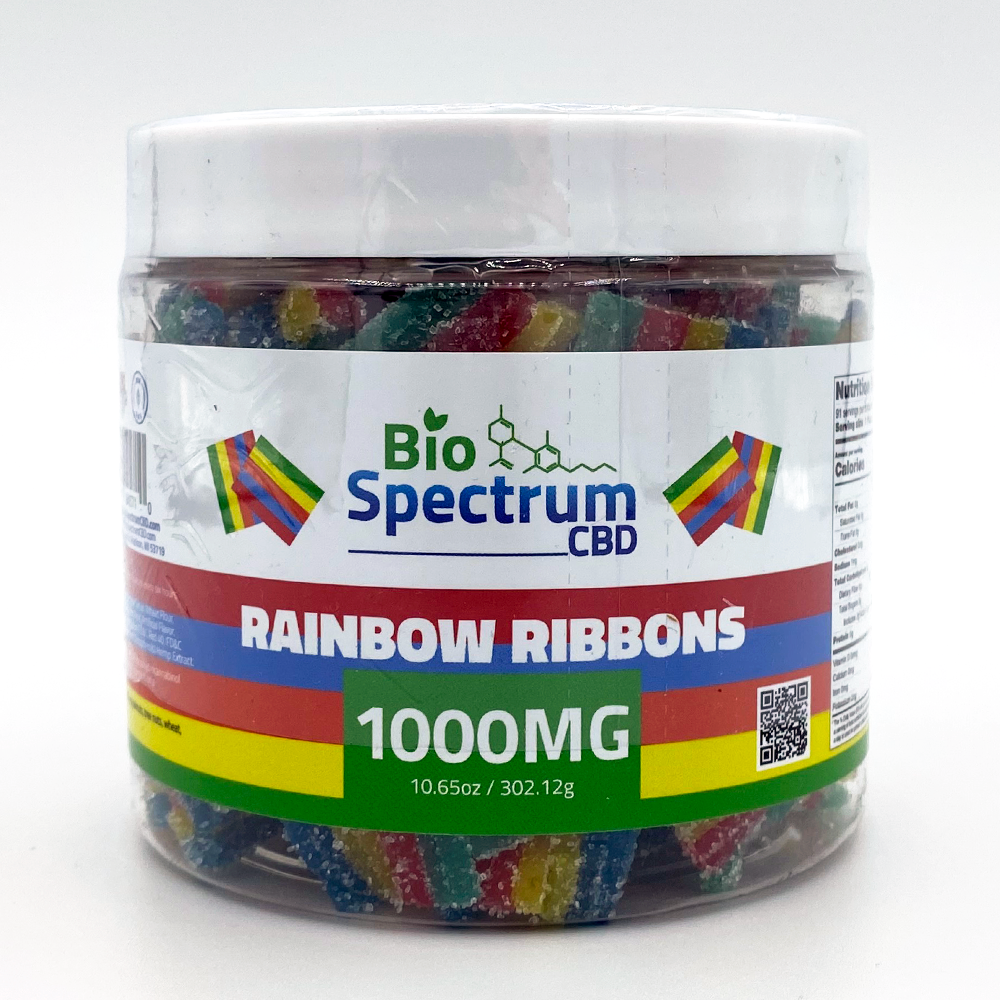 CBD Rainbow Ribbons from BioSpectrum 1000mg