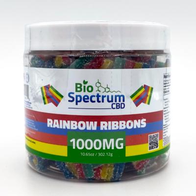 BioSpectrum Rainbow Ribbons 1000mg CBD